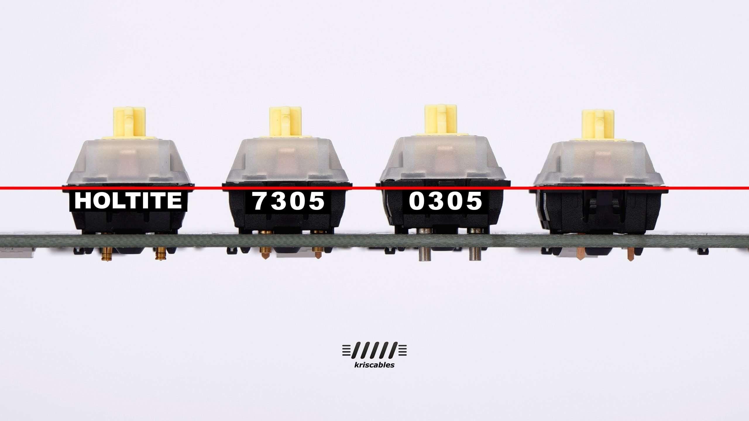 Mill Max hotswap sockets 0305 vs 7305 vs Holtite